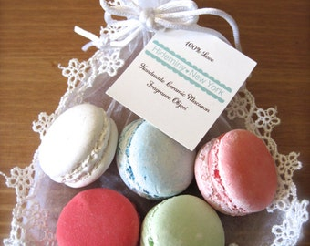 Sweet Interior Ceramic Macaron Sachet-Fragrance Object