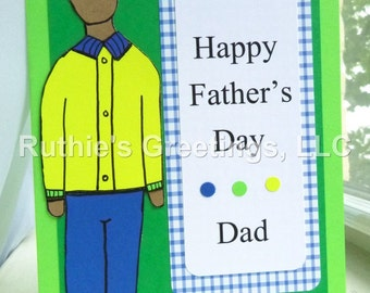 Daddy's Girl - Funny, African-American Father's Day Card