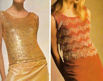 BERNAT Book No. 131 SHELL COLLECTION Tops 1960s Knitting & Crochet Patterns