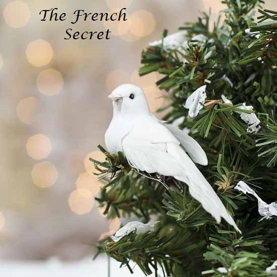 Christmas 6 White Dove Ornament Tree Topper by TheFrenchSecret