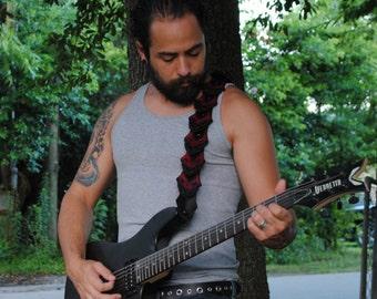 Demon Skull Scale Guitar Strap