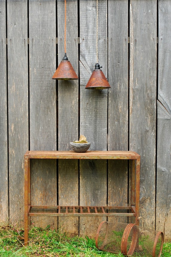 Pendant Light Rustic Metal Pendant Lighting Rustic Pendant