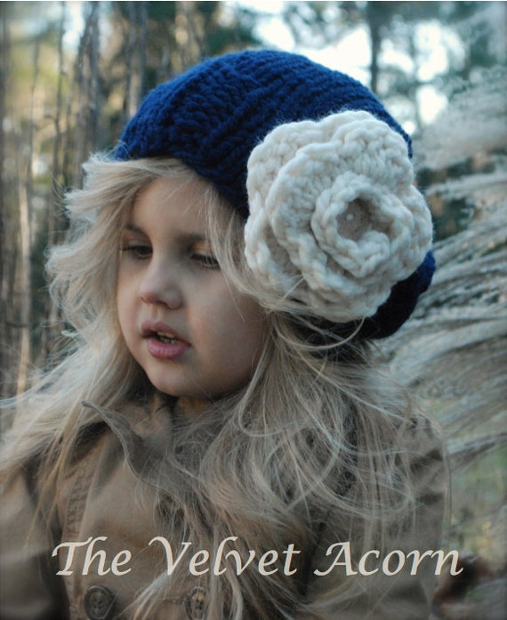 KNITTING PATTERN - Dahlia Slouchy (Toddler, Child, and Adult sizes)