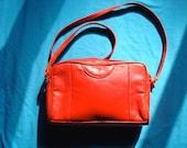 vintage women hot lipstick red shoulder satchel crossbody handbag clutch pouch purse bag