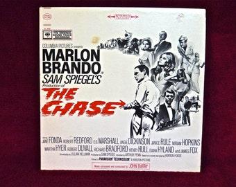 MARLON BRANDO - The Chase - 1966  Vintage Vinyl Record Album...Demo Copy