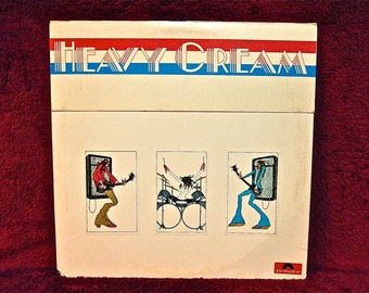 CREAM - Wheels of Fire -1968 Vintage Vinyl Gatefold 2 lp Record Album