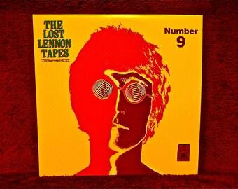 John Lennon - The Lost Lennon Tapes Number 9  - 1988 Vintage Vinyl Record Album