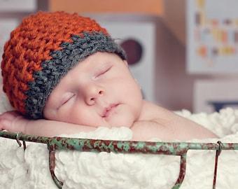 Hyrum's Beanie Crochet Hat Pattern (255)