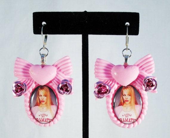Mean Girls Earrings - On Wednesdays, We Wear Pink!