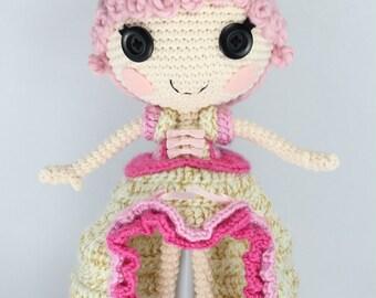 PATTERN: Goldie Crochet Amigurumi Doll