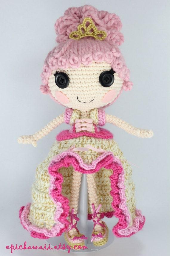 СХЕМА: Голди крючком Amigurumi Кукла