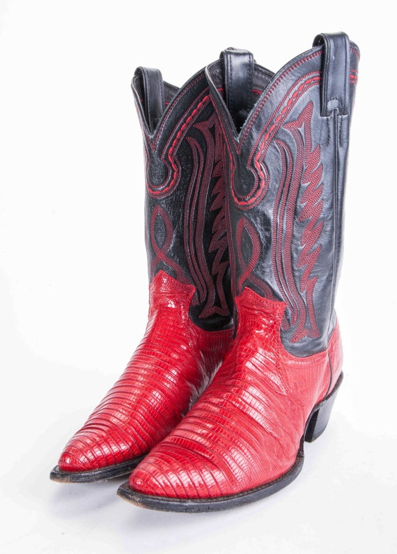 Awesome Boots Costume Pic Cowboy Boots Red
