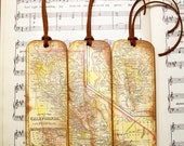 California Map Historical County Map Bookmarks for Men, Map Gifts for Guys Map Collectors Map Lovers