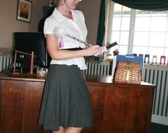 Ladies Skirt Pattern Easy PDF Sewing Pattern Mini Midi Maxi Skirt Instant Download