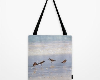 Summer Beach Bag, Sandpiper, Market Tote