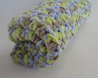 Crochet Cat Mat/Blanket- BLUEGRASS
