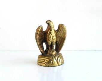 Vintage Large Brass American Eagle