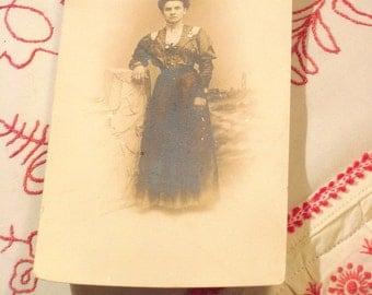 Antique Edwardian Lady Picture Postcard