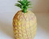 Vintage Pineapple Ice Bucket Pineapple Barware Retro Pineapple Homes and Antiques Magazine Plastic Pineapple Ananas Ice Bucket