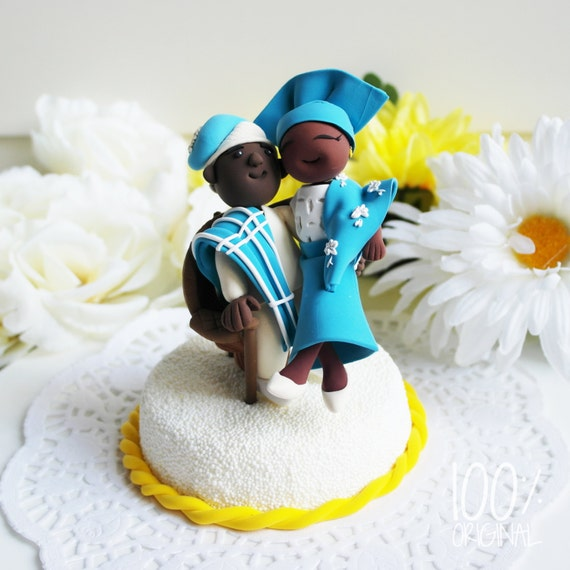 nigerian wedding cake toppers custom wedding cake topper traditional theme 17878