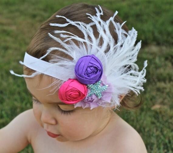 ... Headband - Little Mermaid Party - Under the Sea Headband - Starfish