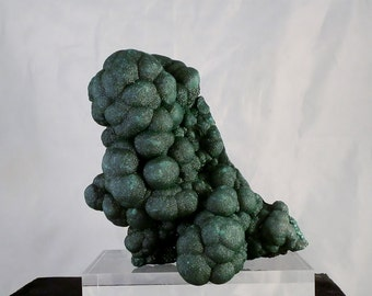 Collectible Malachite Display Large Bubbly Botryoidal Green Malachite Collectors Mineral Specimen Over 2 lbs As Mined DanPickedMinerals