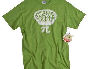 Pi tshirt math geometry 3.14 screenprint pie funny parody mathematics college t shirt funny geekery gift men husband boyfriend