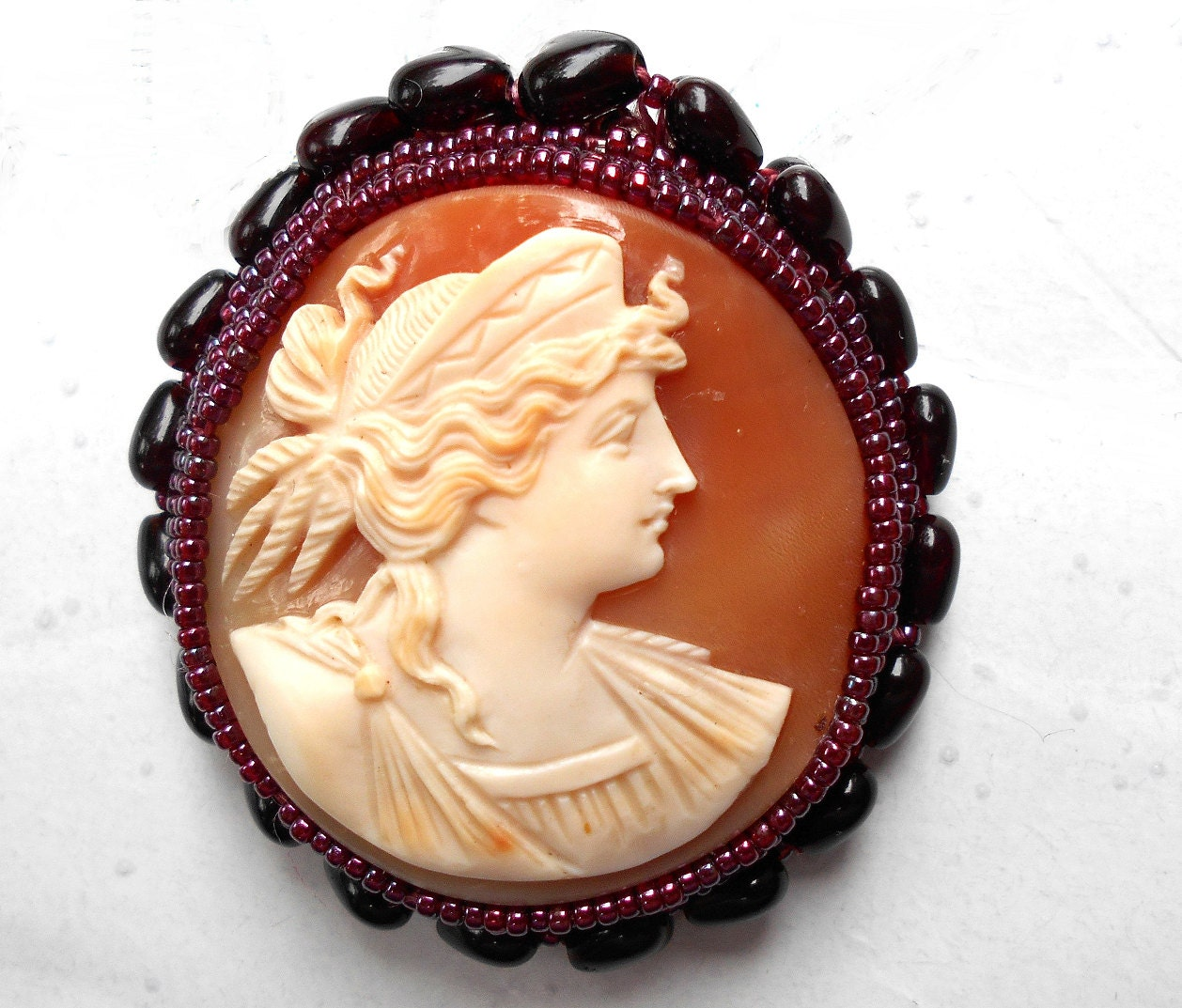 SALE Museum Quality Cameo of Hera Goddess of Love & Marriage