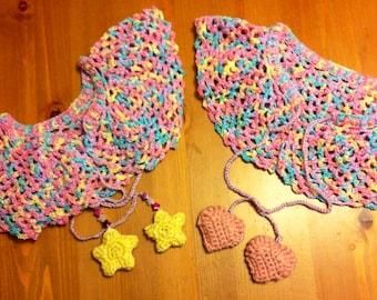 Fairy Kei Crocheted Capelet
