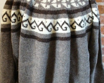 Vintage EMS Wool Scandinavian Style  Sweater