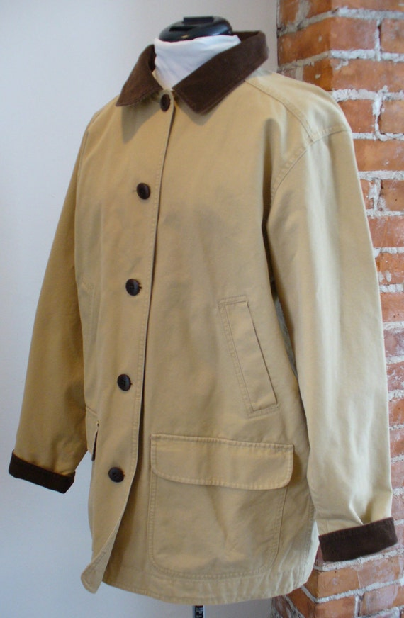 Vintage L L Bean Barn Coat