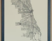 Chicago City Map Poster