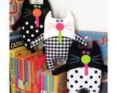 Catnip Kitties - PDF Softies Pattern