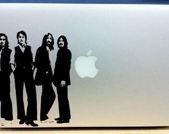 The Beatles Promo - Vinyl Macbook / Laptop Decal Sticker