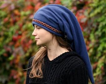 Blue Link hat - Legend of Zelda hat - hippie hat - elven hat - pointy hat
