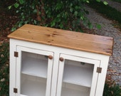 Painted TV Stand, Media Console, Small Media Cabinet, Vintage Style