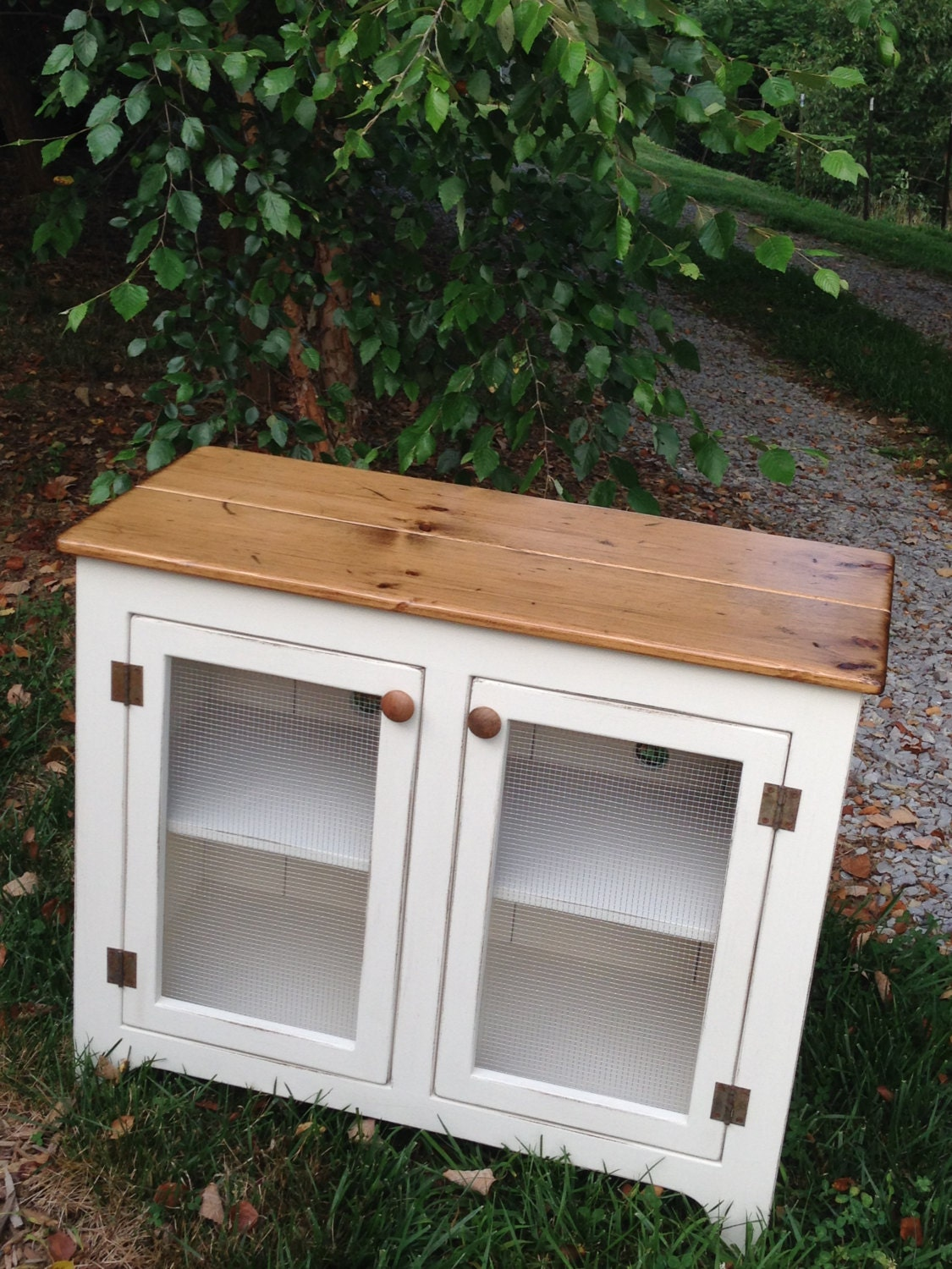 Painted Tv Stand Media Console Small Media Cabinet Vintage