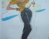 Ungaro Fashion Illustration