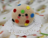 Rainbow Cookie-Kawaii Chocolate Chip Cookie Plush Charm-Plush-Kawaii-squishy-Kawaii squishy-Plush Cookie-Toy-Brown