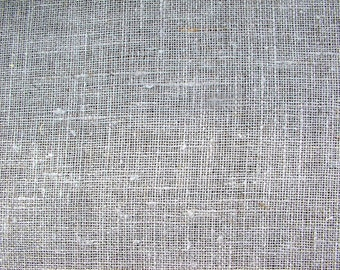 Natural Sheer Linen Loosely woven Linen fabric--Transparent Flax Burlap Linen Fabric--DIY projects--wholesale available