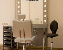 You Look Amazing! Beauty Salon Mirror Decal, Beautician Vinyl Decal, Hair Stylist Gift
