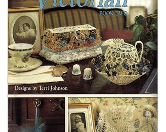 Decorating Victorian Book Two Crochet Pattern Book Leisure Arts 2156