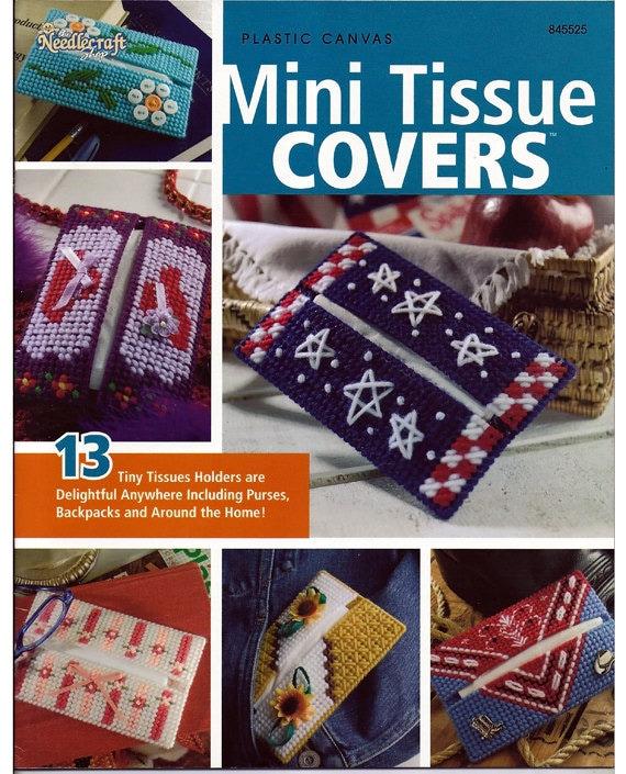 Plastic Canvas Book Cover Patterns : Mini tissue covers plastic canvas pattern book the needlecraft