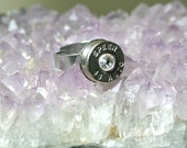 Bullet Ring - Stainless Steel Adjustable Setting