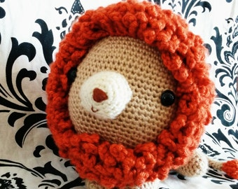 Lion Crocheted Plush Toy