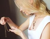 Victorian Cameo Pendant - White Vintage Glass Cameo Grecian Lady