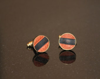 Recycled Basketball Cuff Links
