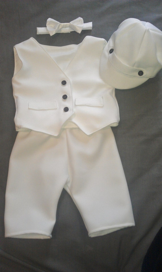 Baby Boy Baptism Outfit Boy Christening Outfit By