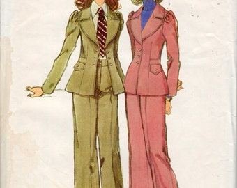 vintage Simplicity 5250 sewing pattern // Misses' Jacket and Pants