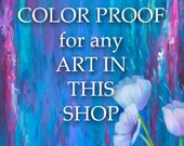Color proof for any print in my shop